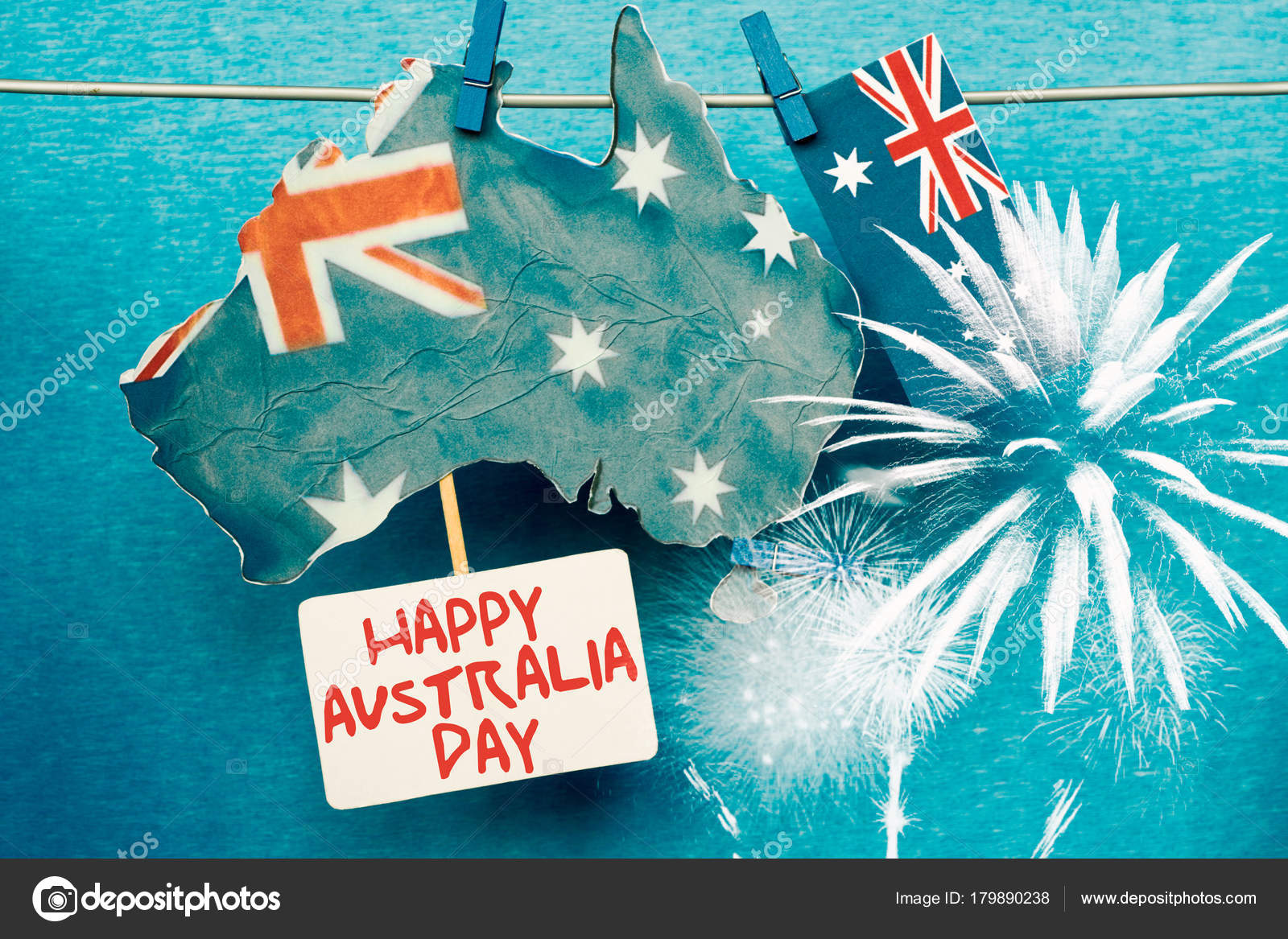 Celebrate australia day holiday january happy australia day message celebrate australia day holiday january happy australia day message greeting stock photo m4hsunfo