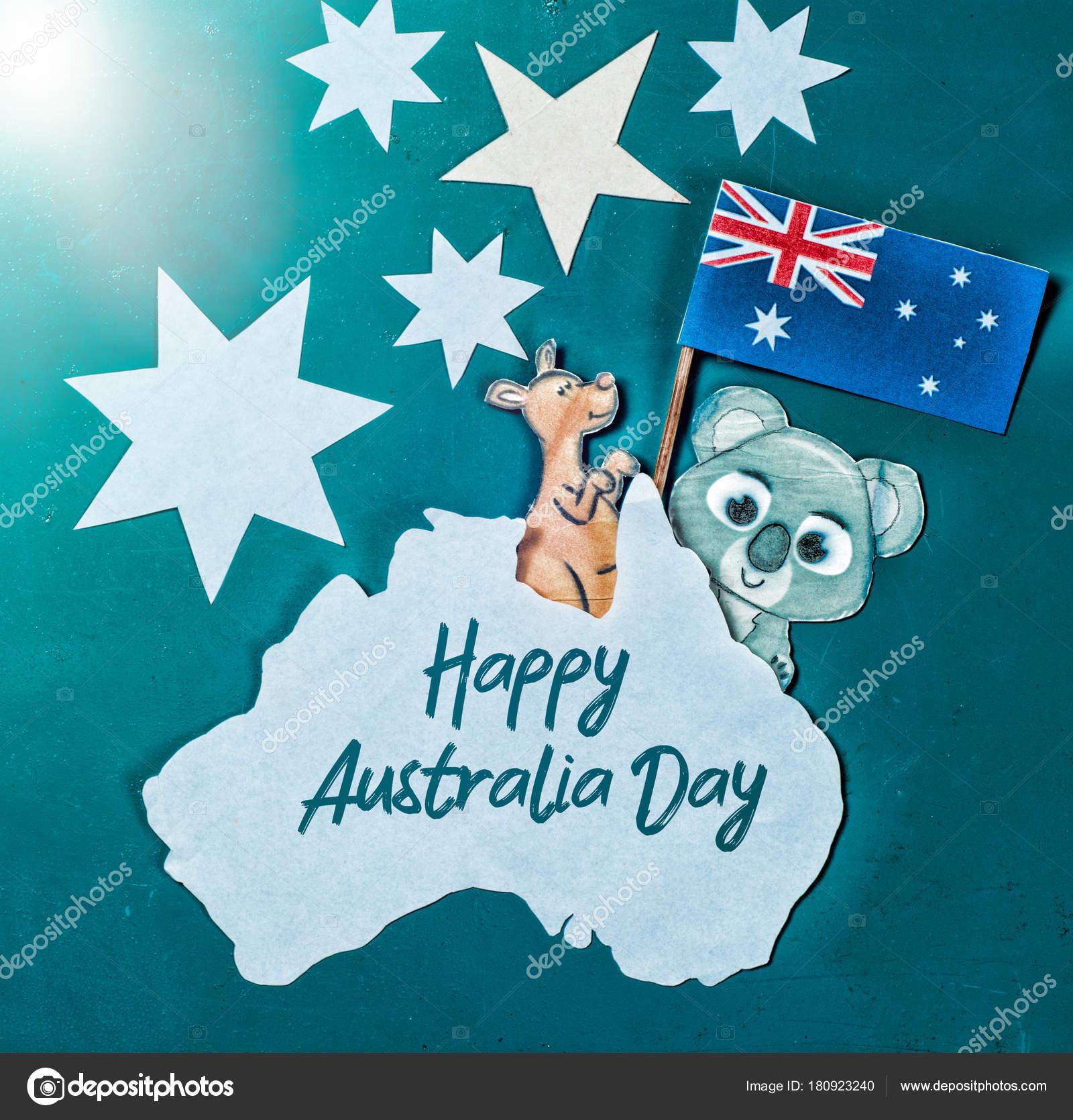 Holiday Greeting Message | Celebrate Australia Day Holiday January Happy Australia Day Message