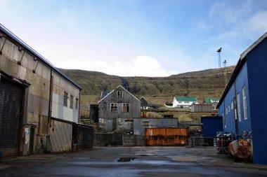 Faroe Adaları Kuzey Atlantik'Shipeyard