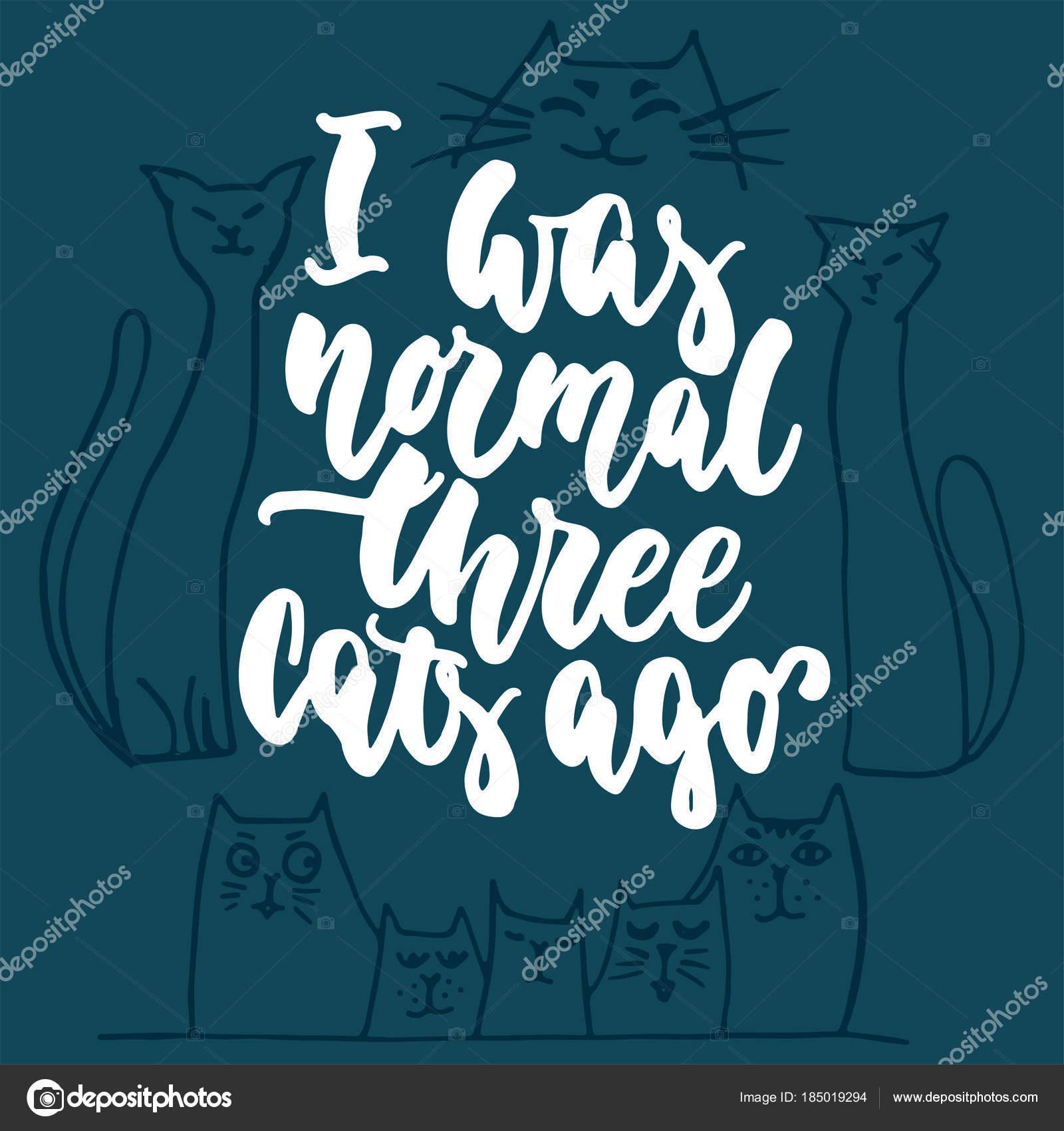 Imágenes Letras Normales Era Normales Tres Gatos Hace
