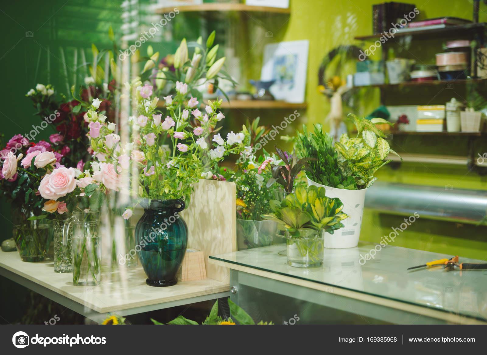 Beautiful flowers in flower shop stock photo makidotvn 169385968 beautiful flowers in flower shop stock photo izmirmasajfo