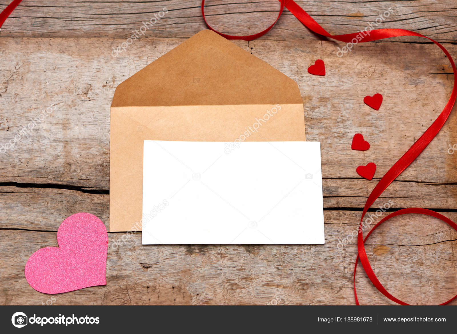 Letter Mom Rose Envelope Wooden Background  Stock Photo  Makidotvn