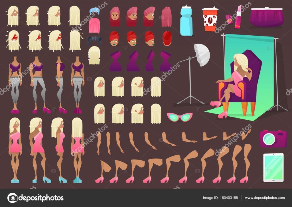 Модели женщины в разных позах — photo 14