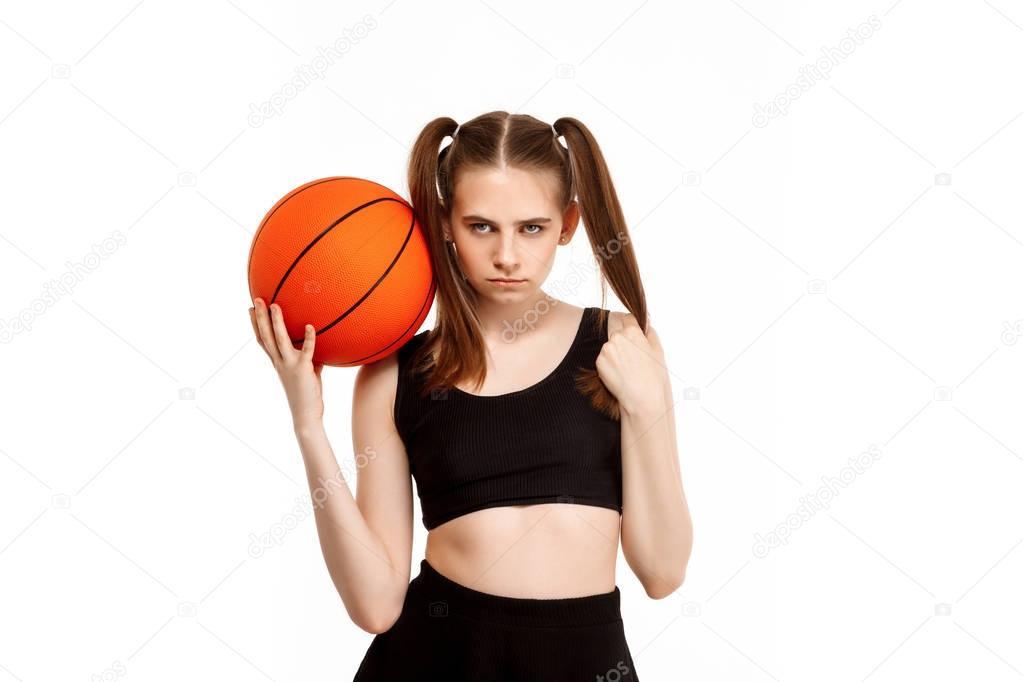 girls basketb pantherettes pose - 1023×682