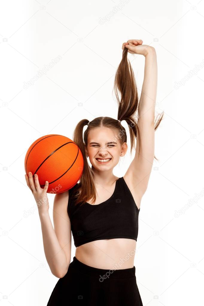 girls basketb pantherettes pose - 682×1023