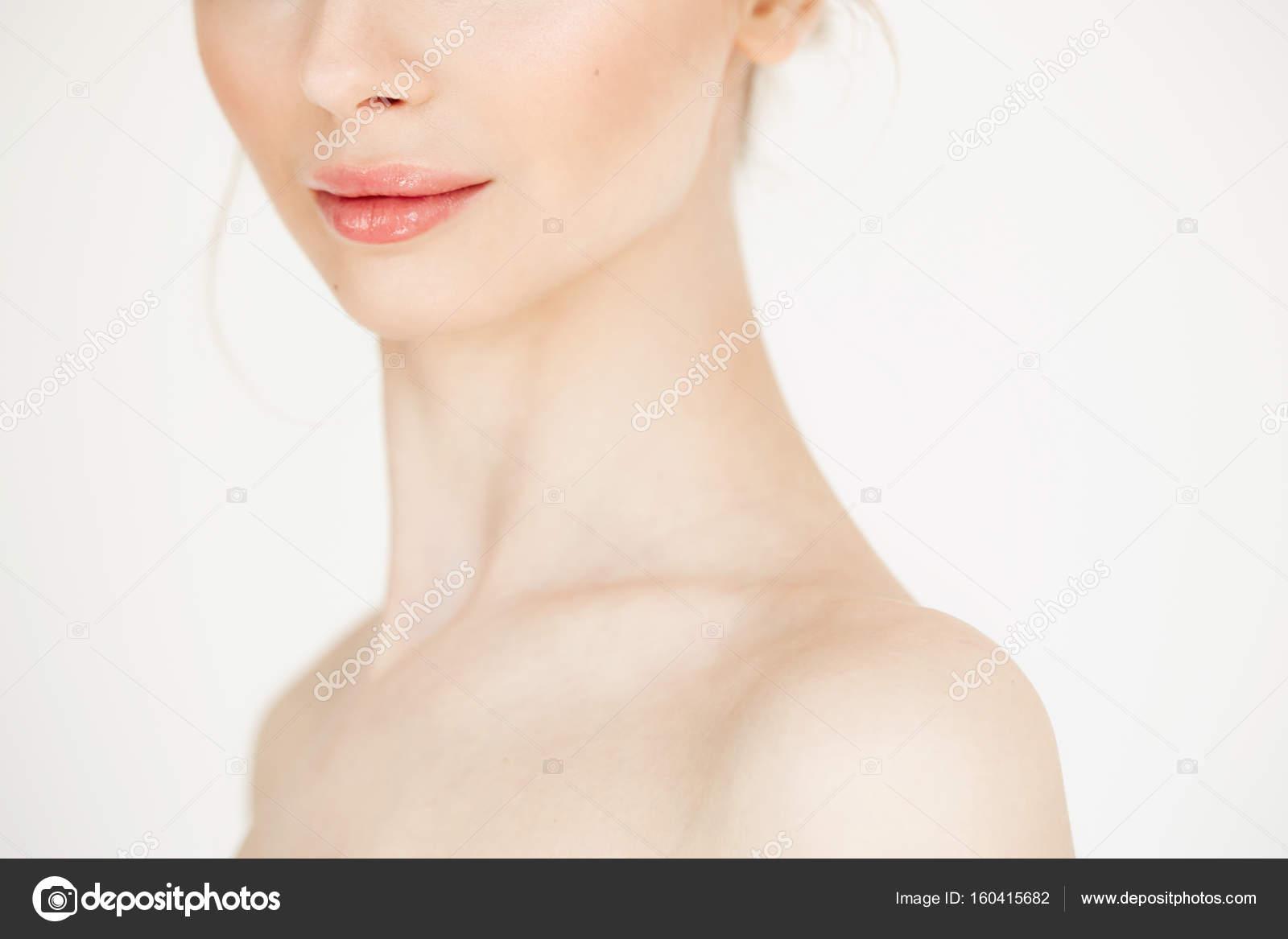 Nackte schöne Mädchennahaufnahme, Boomporn Bilder