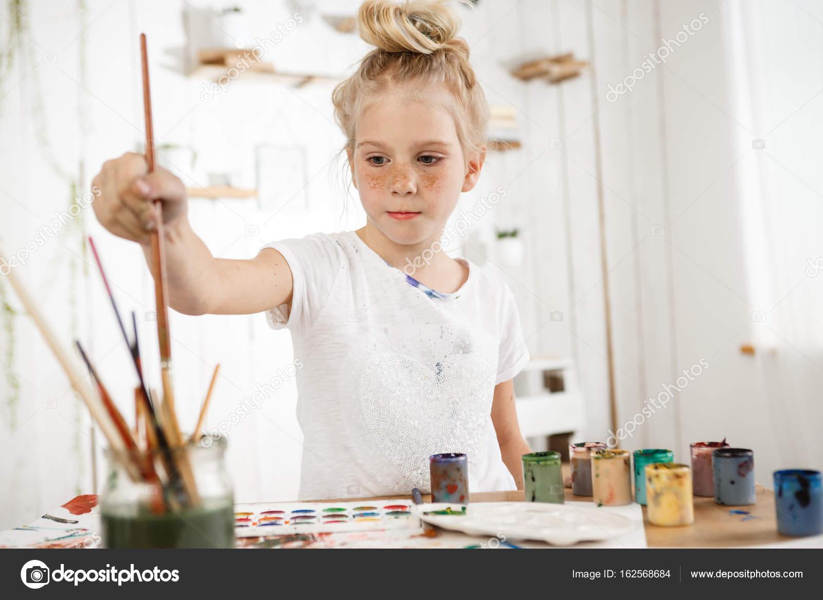 Tir Intérieur D Enfant Créatif Européen Mignon Cheveux Chignon Snd