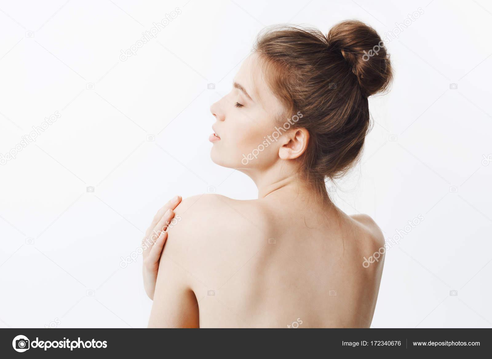 Schönheit Und Gesundheit Gut Aussehende Dünne Gesundes Kaukasisches