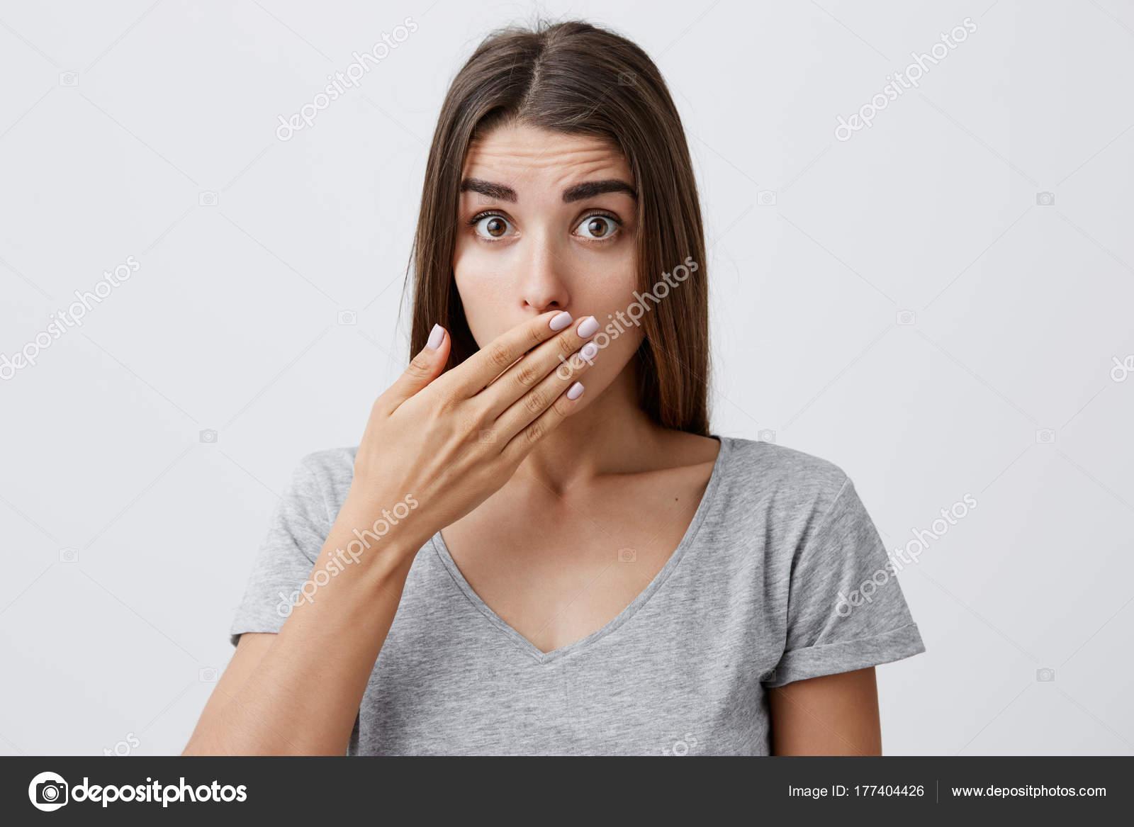 hår i munnen