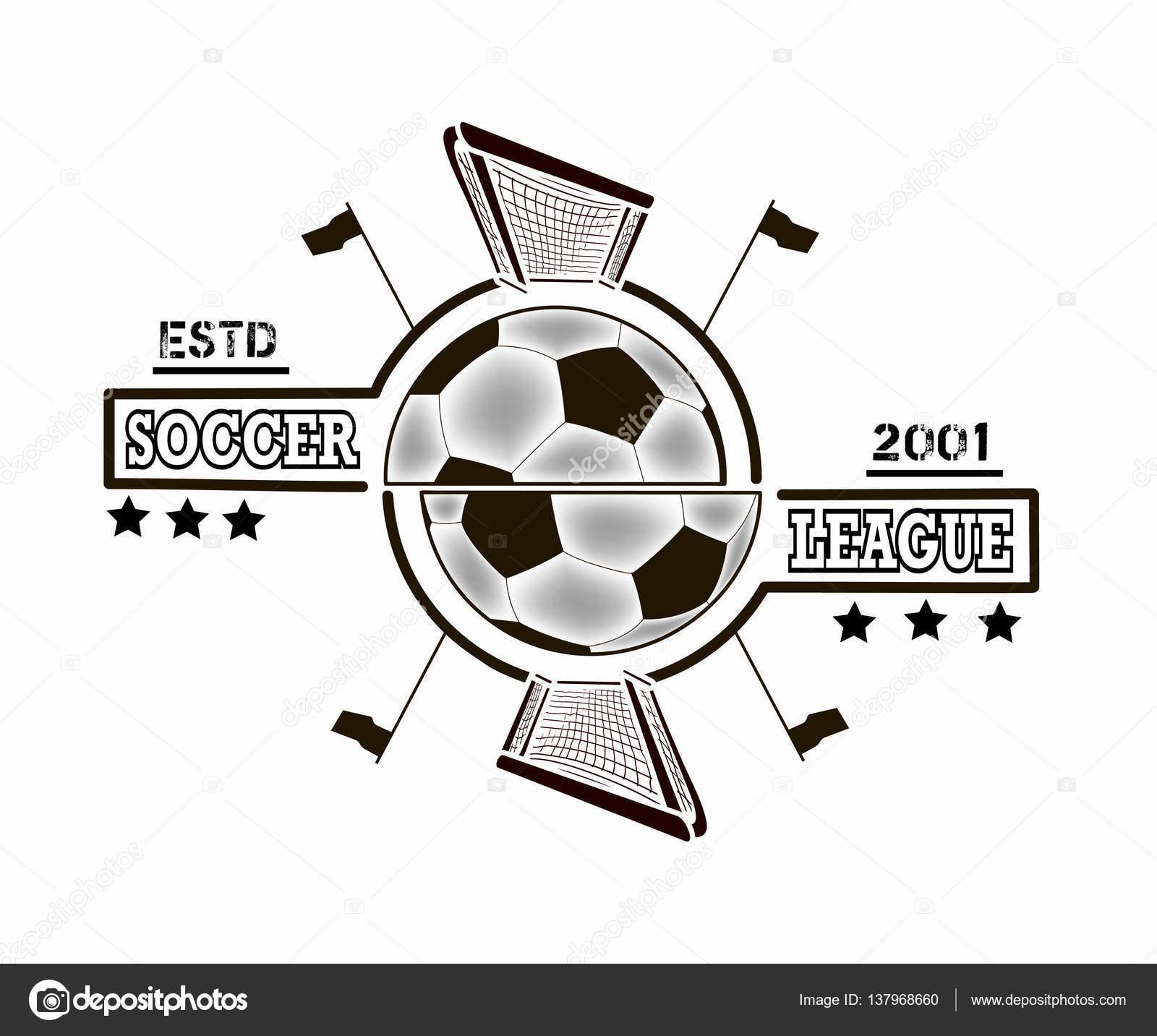 Liga de Futbol logo — Vector de stock © Mityay_PG #137968660