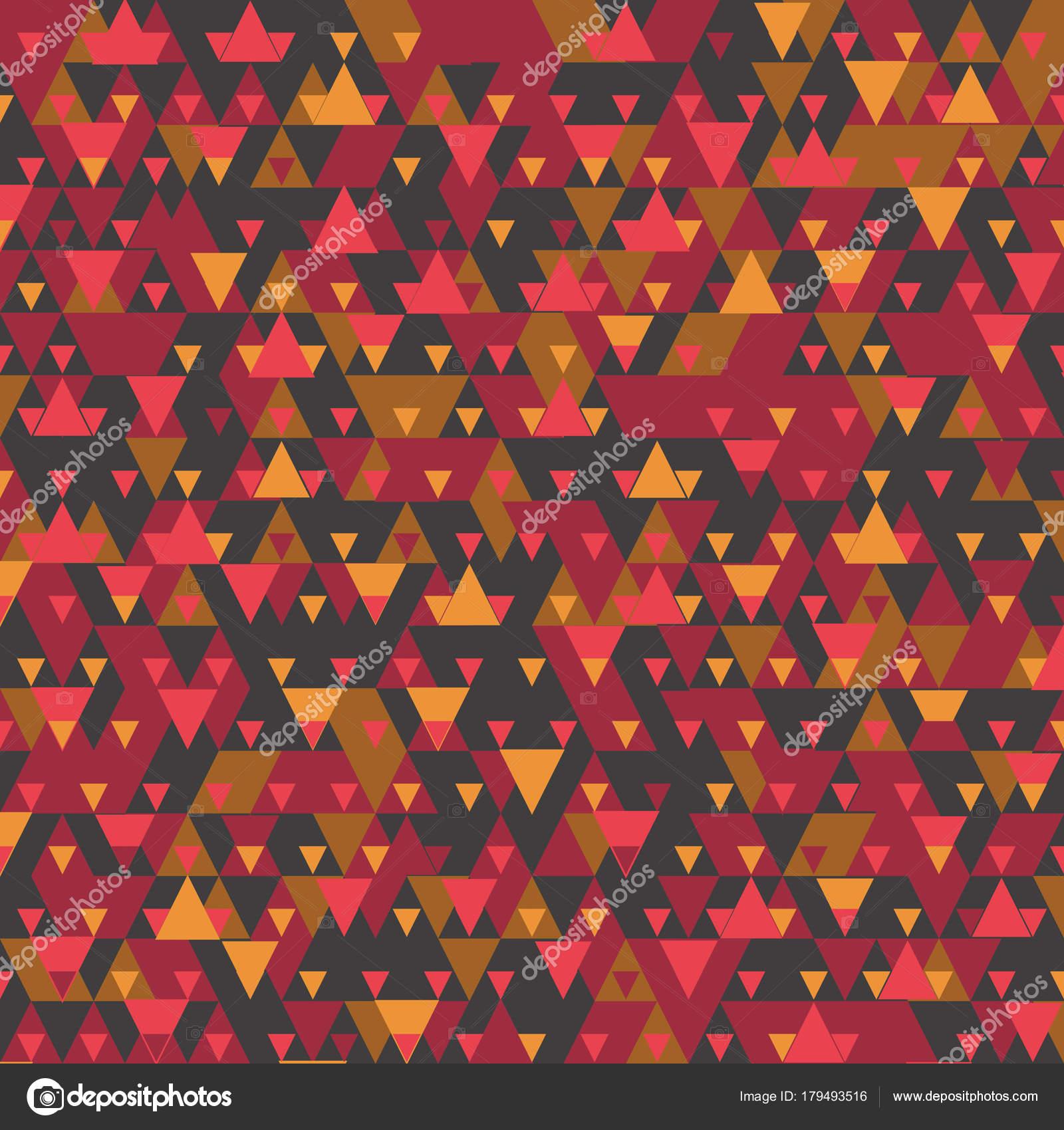 Modernen Hintergrund Mit Coolen Dreieckige Formen Muster 3d