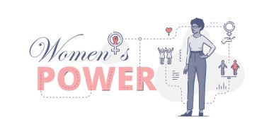 Womens power web banner