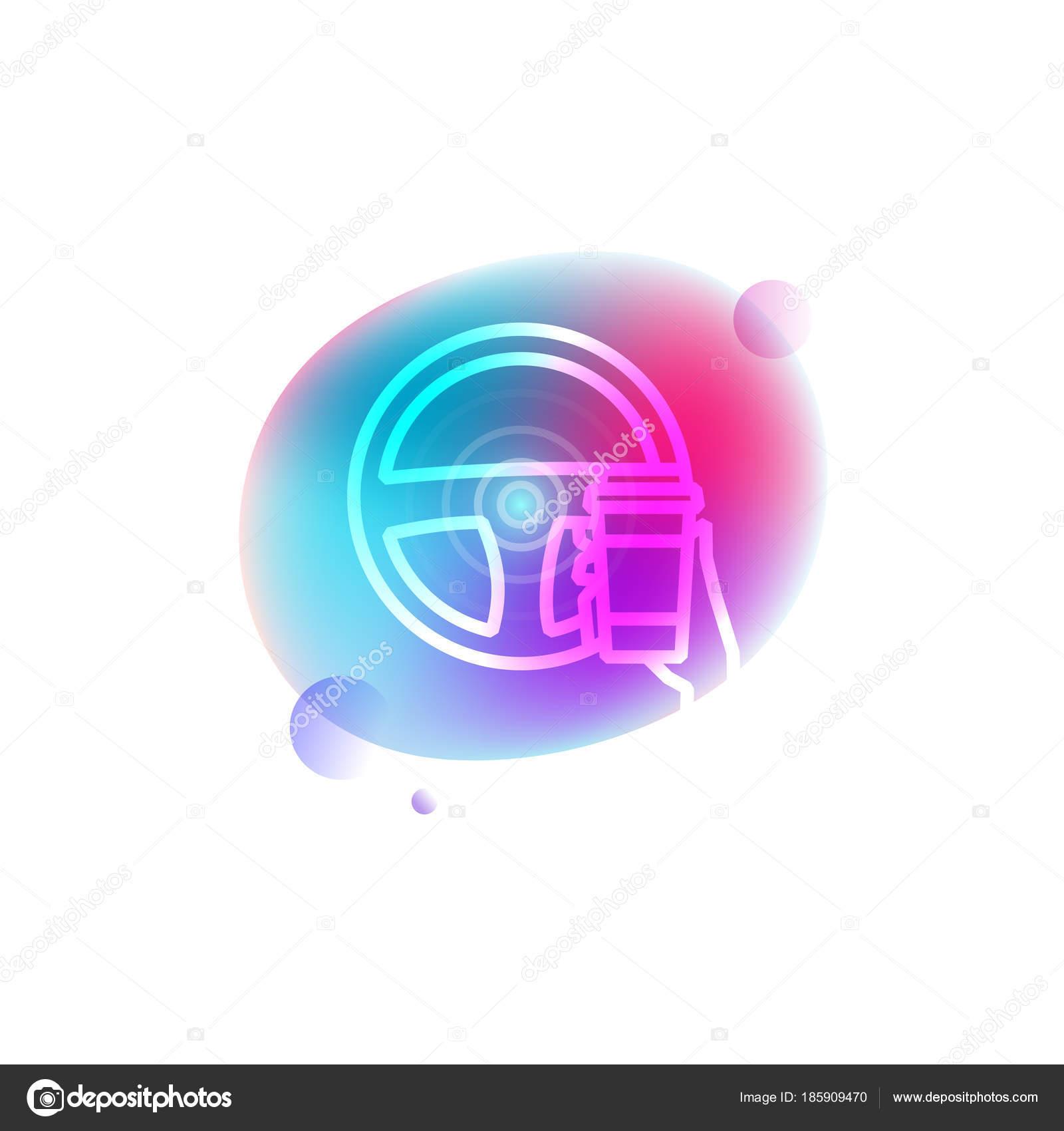 Self-driving car neon icon — Stock Vector © super-belickaya
