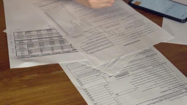 Ausfüllen einer individuellen Einkommensteuererklärung