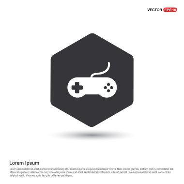 Game joystick icon. vector illustration stock vector