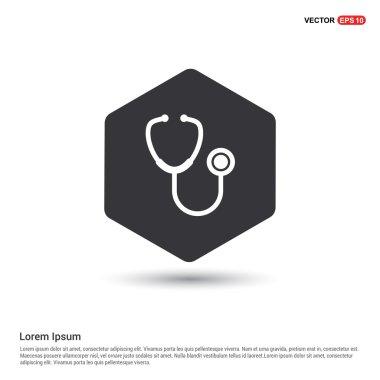 medical stethoscope icon