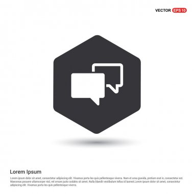 Speech bubbles icon