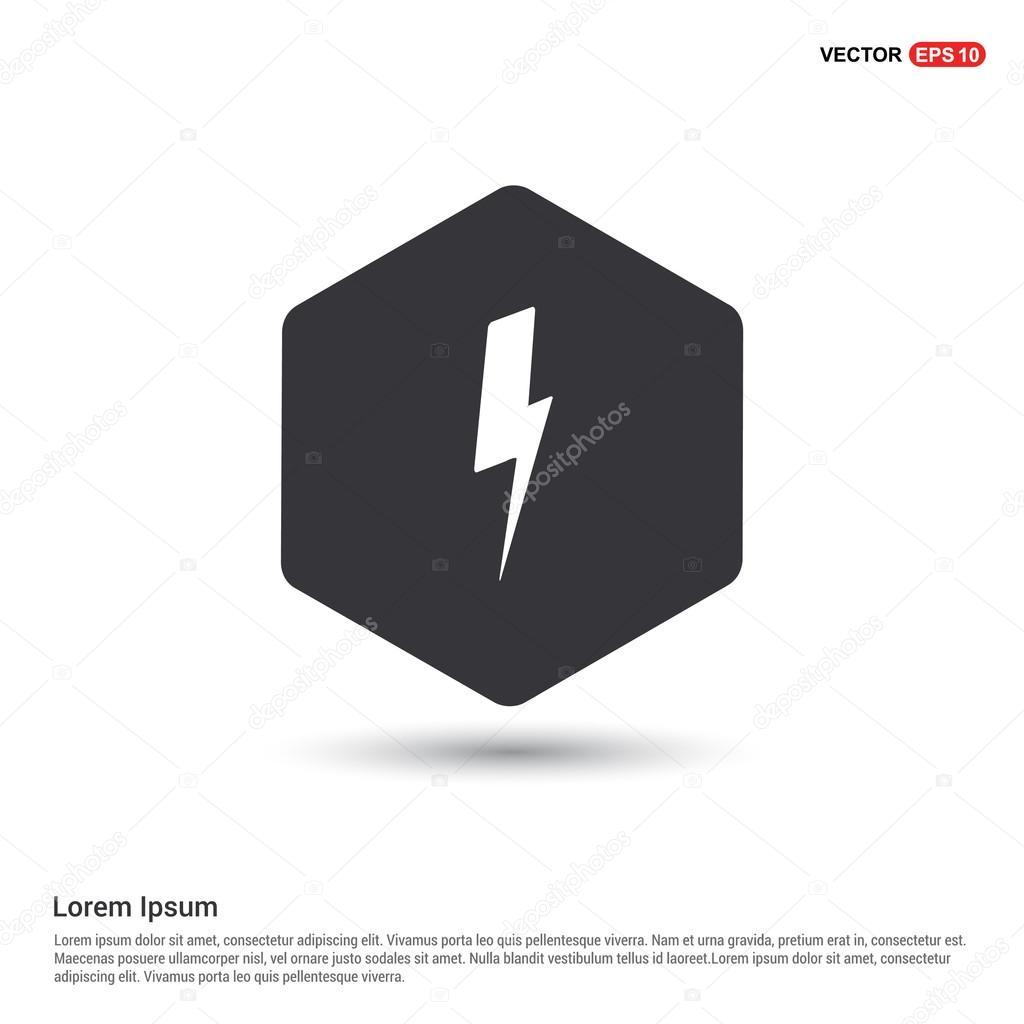 lightning weather icon