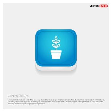 plant in flowerpot icon