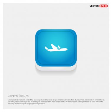 airplane accident icon