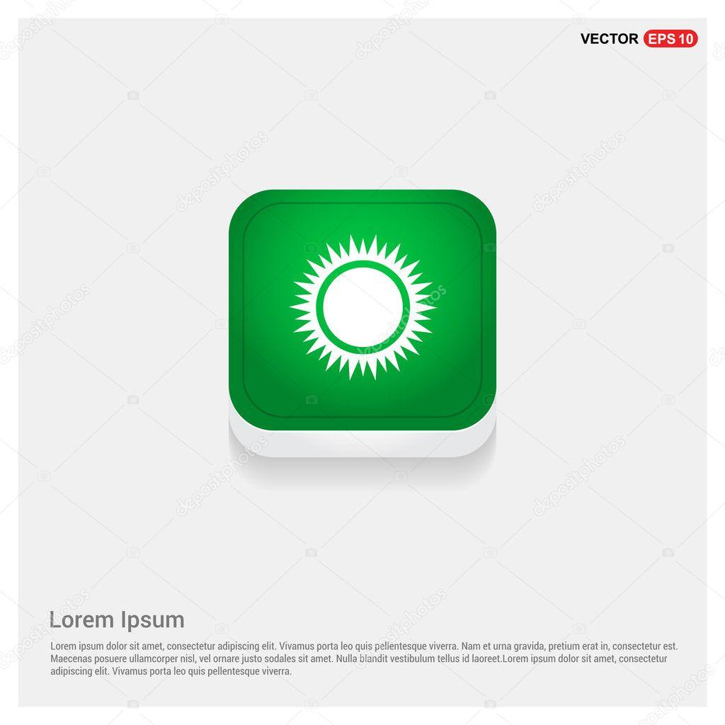 weather sun icon logo