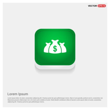 Dollar Money Bags Icon
