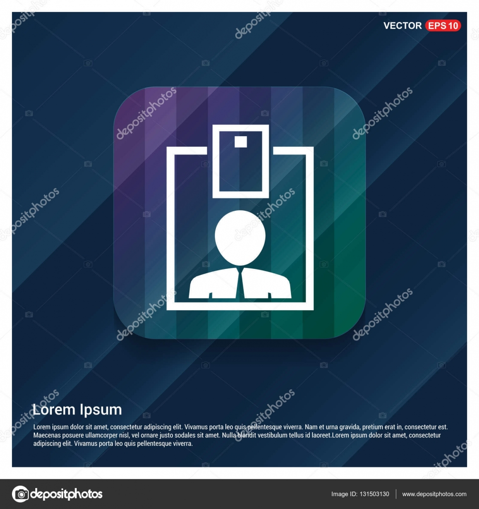Icono de reanudar con texto planificación — Vector de stock ...