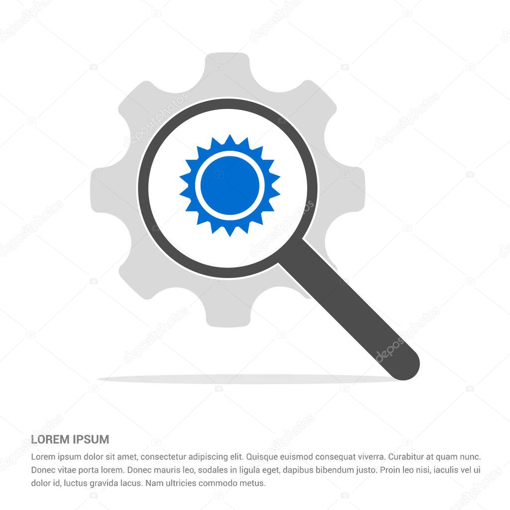 magnifier search icon