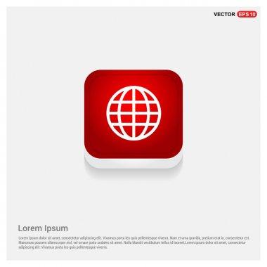 pictogram globe icon