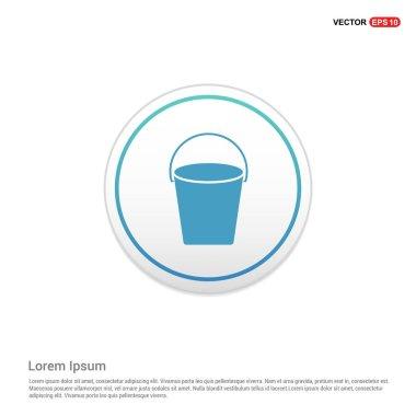 plastic empty bucket icon