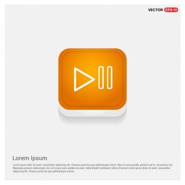 pause media player button icon