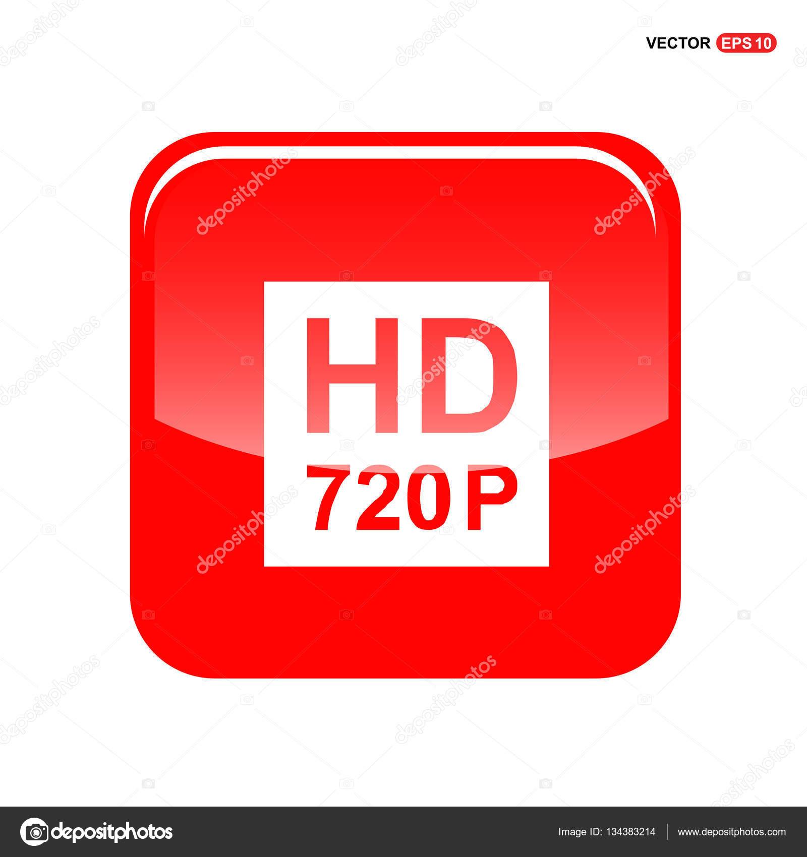 d2085bf022ac5 Icono de señal HD 720 p — Archivo Imágenes Vectoriales © ibrandify ...