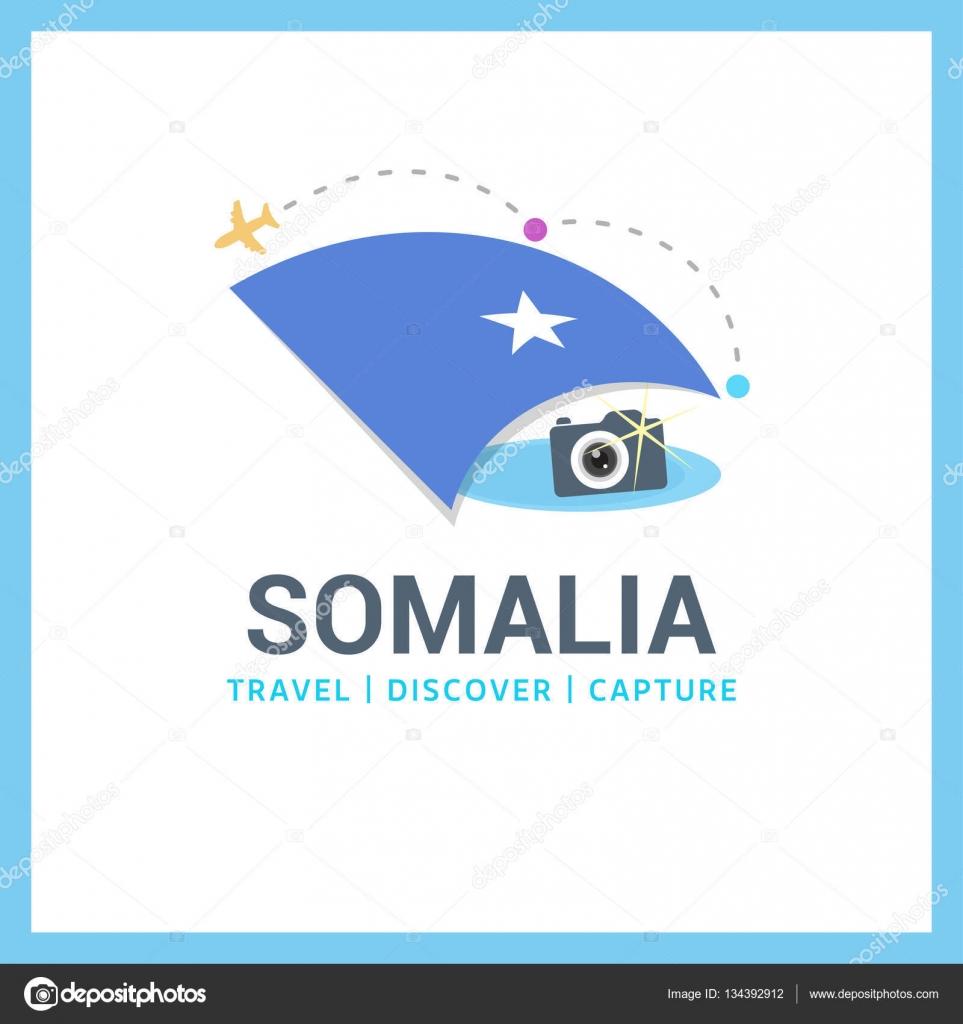 Somalia national flag logo — Stock Vector © ibrandify #134392912