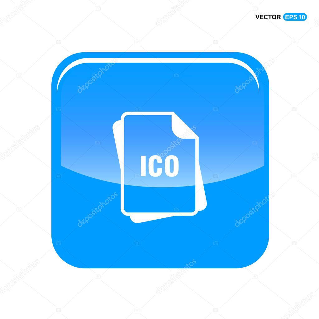 ic u00f4ne de format de fichier ico  u2014 image vectorielle