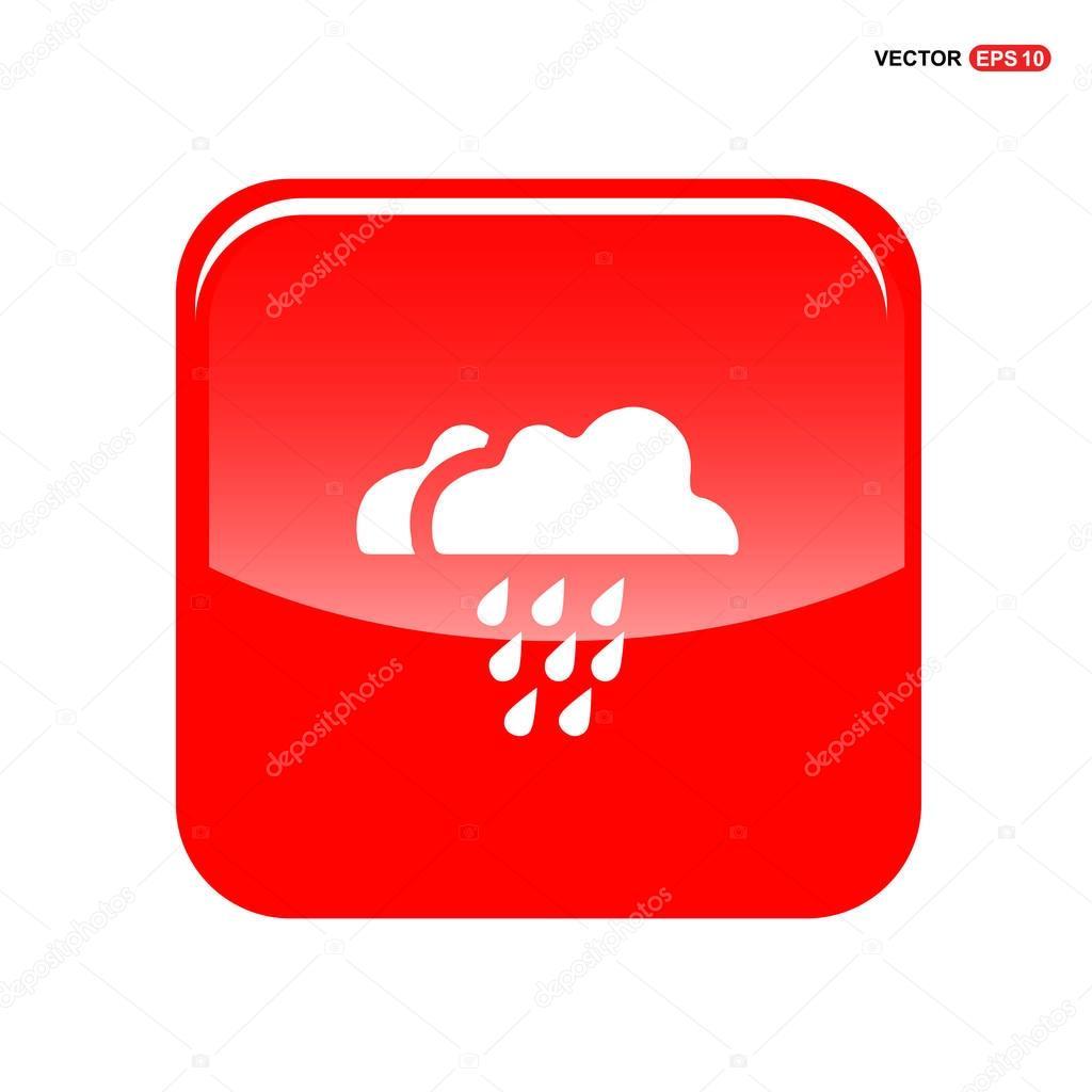 rain clouds icon