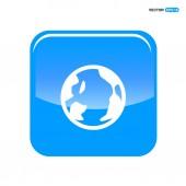 ikona zeměkoule webové