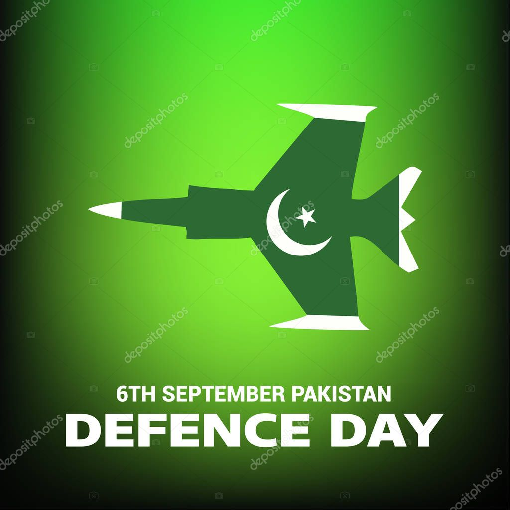 Pakistan Defence Day card