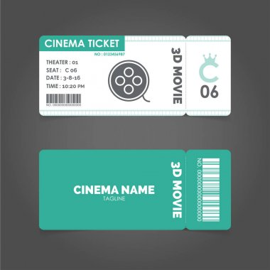 paper tickets set