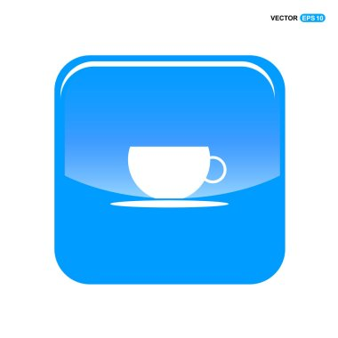 cup in blue button