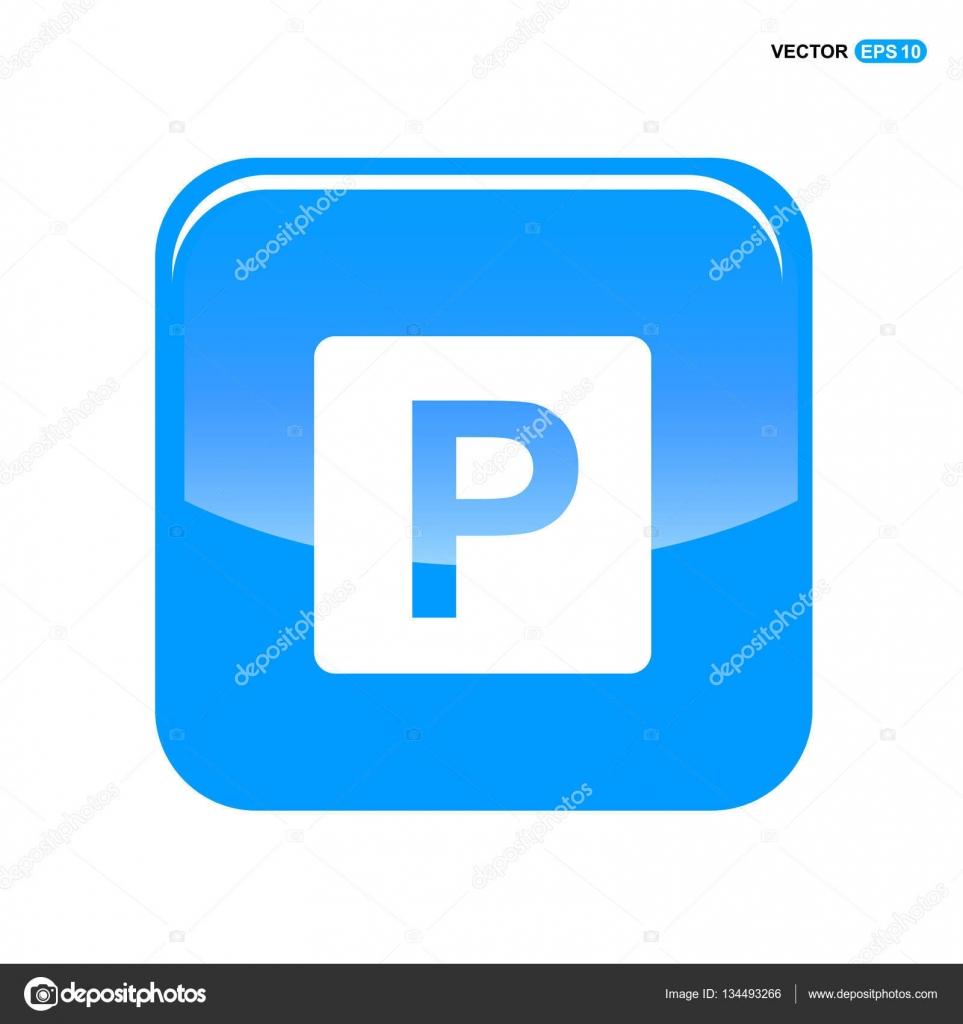 car parking icon stock vector  u00a9 ibrandify 134493266