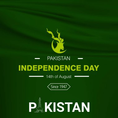 Pakistan Independence Day card