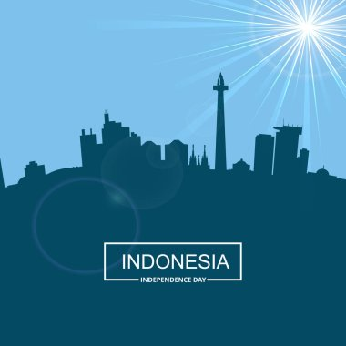 Indonesia Independence Day card