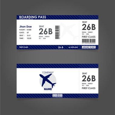 paper tickets set