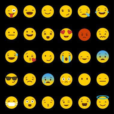 emotion icons with smileys