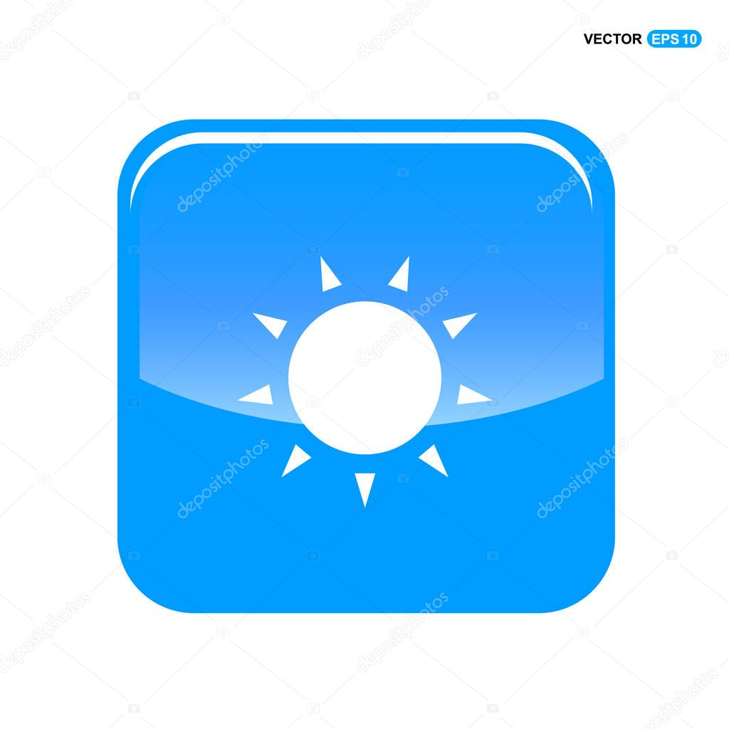 weather sun icon