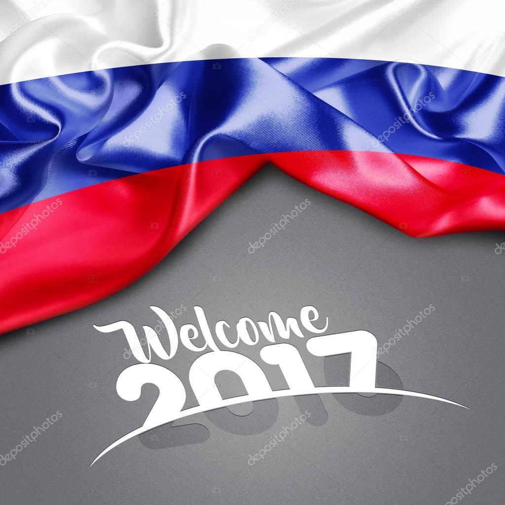 2017  New year in Russia