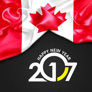 2017  New year in Canada