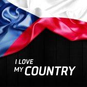 Mávání vlajkou České republiky