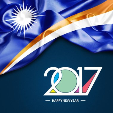 2017  New year in  Marshall Islands