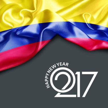 2017  New year in Colombia
